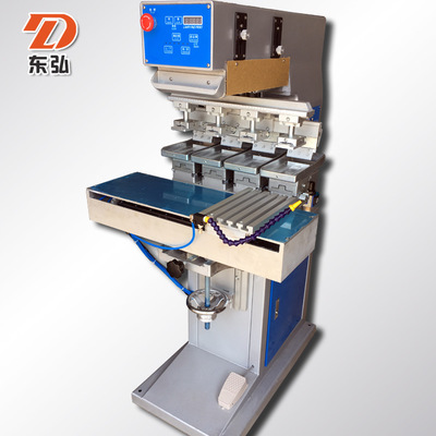 四色穿梭移印机 四色移印机器 全自动移印机 东莞移印机厂家