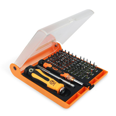 JM6109 72合1棘轮五金工具组合螺丝刀套装 家用维修螺丝批工具箱