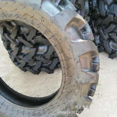 9.5-24 农用拖拉机轮胎 新花纹 水旱两用 人字胎