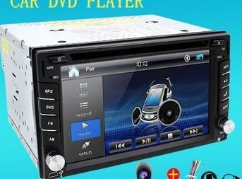 汽车DVD MP5导航汽车影音车载DVD导航一体机车载通用机导航