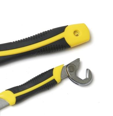 世克 镀铬热处理万能扳手 多功能万用钩型活动管钳扳子