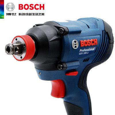 BOSCH博世充电式电动冲击套筒扳手起子机博士锂电池电钻