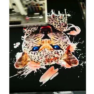 佛山生产厂家T恤印花机UV打印机台面纺织数码直喷印花机定制