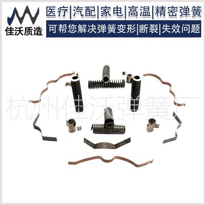 厂家定做环形弹簧圈快速接头屏蔽弹簧油密封弹簧上海嘉兴精密弹簧