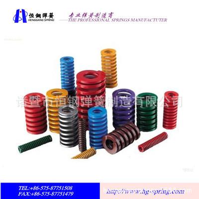 专业生产IS010243和JIS B5012标准模具弹簧 矩形弹簧 进口品质