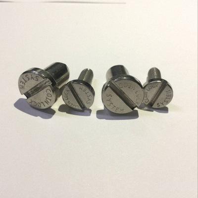 【日一】304不锈钢厨具螺丝 高档铁锅手柄螺丝 定制一字槽螺丝