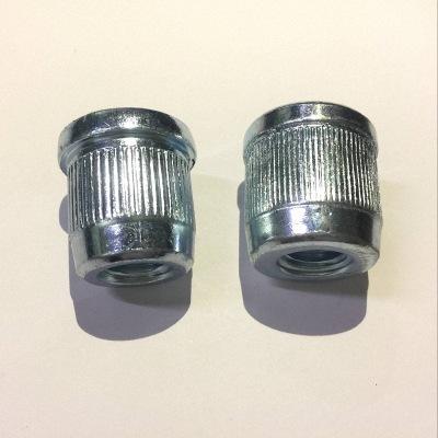 【日一】304不锈钢圆柱螺母 高强度内螺纹螺帽M3-20螺母批发定制