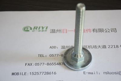 (RIYI厂家供应)M12X80洗衣机底脚螺栓 家电地脚螺栓 支持定做