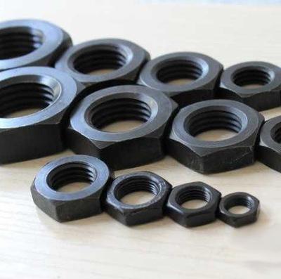 供应GB6172六角细牙薄螺母 10级锁紧螺母 M8×1高强度六角螺母
