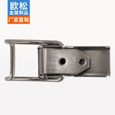 定制箱包搭扣仪器箱搭扣弹簧搭扣不锈钢锁扣工具箱搭扣无锁扣现货