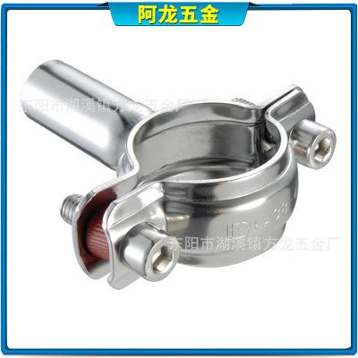 可来图来样加工 铝压金属开口管夹抱箍 单头强力地暖管喉箍卡箍