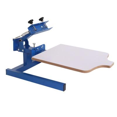厂家 单色平面丝印机 手动服装丝网印刷机 小型服装印花机印刷机