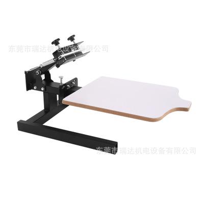 厂家 单色丝印机 平面印刷手印台 手动丝网印刷机 高精密印刷台