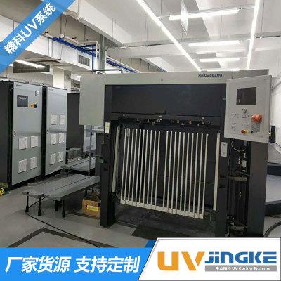 全新机海德堡CD102-7+1印刷机加装UV设备 海德堡UV系统