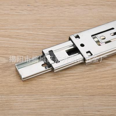 GX-4515F反弹滑轨 抽屉反弹导轨 反弹器 45MM宽 揭阳厂家批发