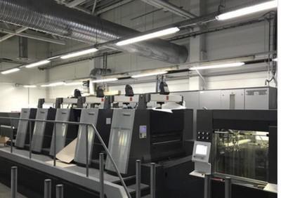 海德堡XL106对开5色6色印刷机胶印机