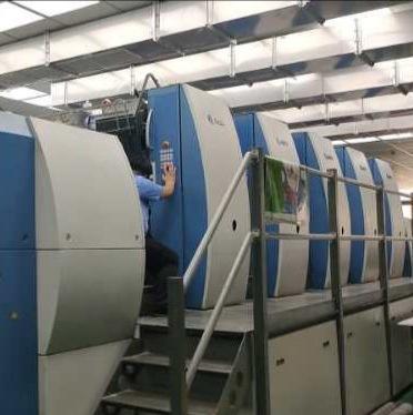 2007年高宝KBA162A-5全张印刷机胶印机二手印刷机