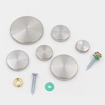 304不锈钢广告钉镜钉装饰钉 装饰盖 广告钉 玻璃钉 镜钉