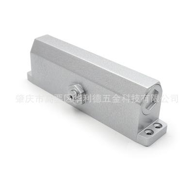 厂家直销供应液压闭门器银灰色特大自动闭门器简易防火液压闭门器