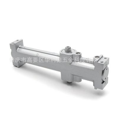 供应液压闭门器 银灰色中方机自动闭门器 轻型简易防火液压闭门器