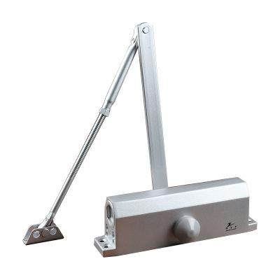 泽秀金闭门器不锈钢木门承重100KG 防冻液压缓冲关门器 北方可用