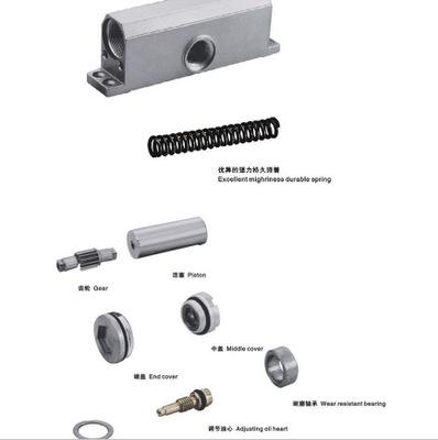 五金厂家直销隐藏式闭门器 自动缓冲液压闭门器 铝合金闭门器现货