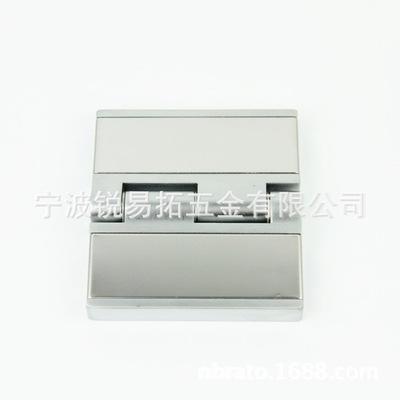 锌合金材质坚固耐用银色多种尺寸重型冷藏门合页