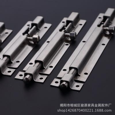 不锈钢插销小方中方1.5-12寸明插销/暗插销/门窗mm房门插销/门栓