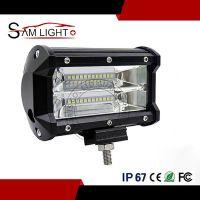 厂家直销电商新爆款三排24珠72W LED工作灯长条灯行驶越野车灯
