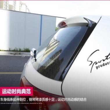 汽车尾翼改装侧翼ABS扰流板适用于高尔夫7大众