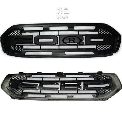 适用福特RANGER T7带LED灯罩 福特RANGER带灯大灯罩车身前脸改装