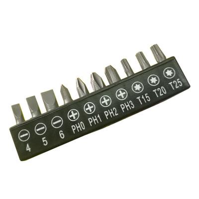 充电手电钻电动螺丝刀批头 10件套螺丝刀批头