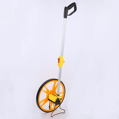 手推式机械测距轮折叠直立手推式长度测量轮高精度测距轮机械双轮