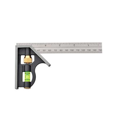 角尺90度不锈钢加厚多功能万用高精度木工直角尺子活动组合角度尺