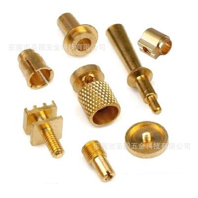 数控车床加工 磷铜件铜接头 堵头封头 气阀铜套 阀针接头 铜销