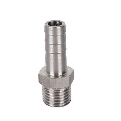 304材质 不锈钢宝塔接头 变径接头六角变径宝塔接头 皮管接头