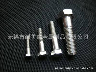 厂家直销 304不锈钢螺丝 螺栓 紧固件 标准件 连接件 M8 M10 M12