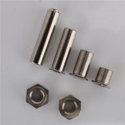 厂家直营不锈钢压铆螺母柱 五金配件螺丝双头罗栓螺柱套装定制