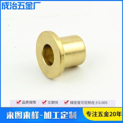 应锡青铜铜套 发动机零部件铜衬套 耐磨损铜套 铜套可定制