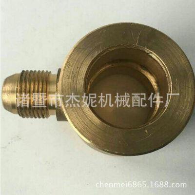 铜件加工 黄铜接头加工铜螺丝螺母非标件加工 铜车削件加工定制
