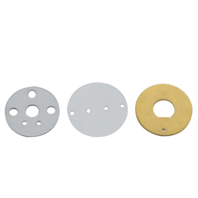 冲床加工件 非标定制 圆形铜片五金机械冲压件 CNC金属冲压件加工