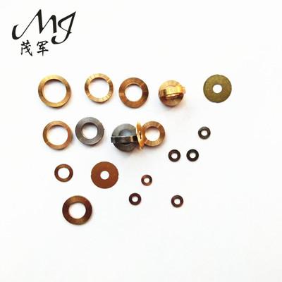 304非标不锈钢金属平垫片紫铜黄铜垫圈 0.5-4mm圆形铁垫片五金