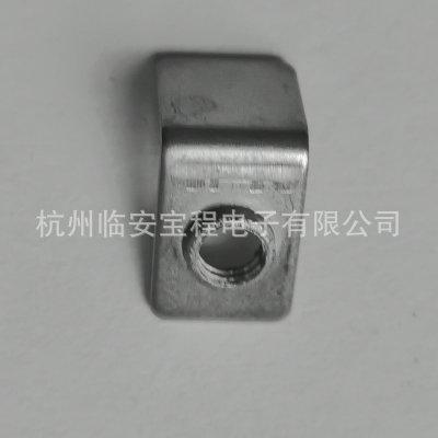 批发M4不锈钢接线片 电热电器五金配件连接件 1.0x8x11x9mm接线片