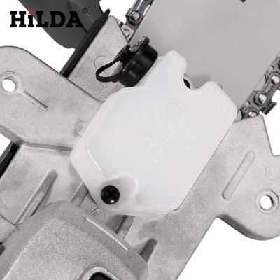 """希尔达电动工具角磨机变电链锯磨光机改电锯转换器12""""角磨转链锯"""