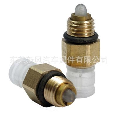 适用于奔驰164221路虎Q7宝马X5空气悬挂弹簧避震打充气泵气管接头