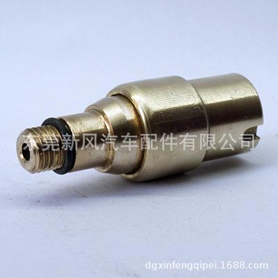 适用于奔驰220前空气悬挂弹簧减避震器气嘴减压保压阀2203202238