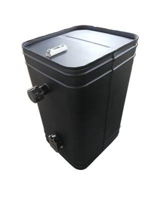 产地货源专业定制生产非标沙漠油田车水泥磅车专用铁质燃油箱