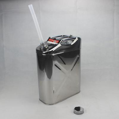 304不锈钢汽油桶10升20升加厚小柴油壶备用大油罐汽车装水存储酒