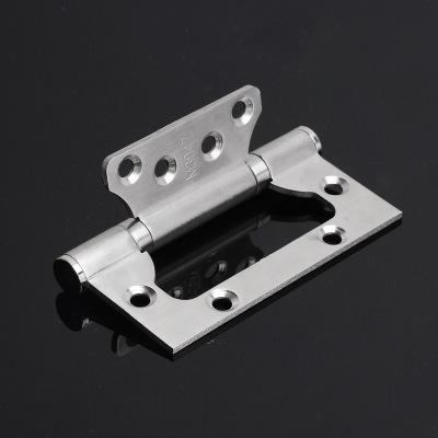 捷盈不锈钢子母合页4寸2.5厚/304不锈钢子母合页静音轴承木门专用