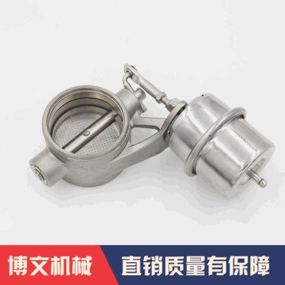 汽配配件钛合金阀门 常温钛合金TA2气动阀门 工业设备用品排气阀